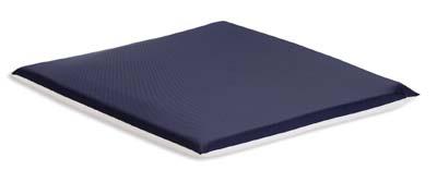 Low profile gel wheelchair cushion
