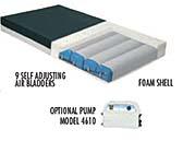 OR & ER pad self adjusting air core