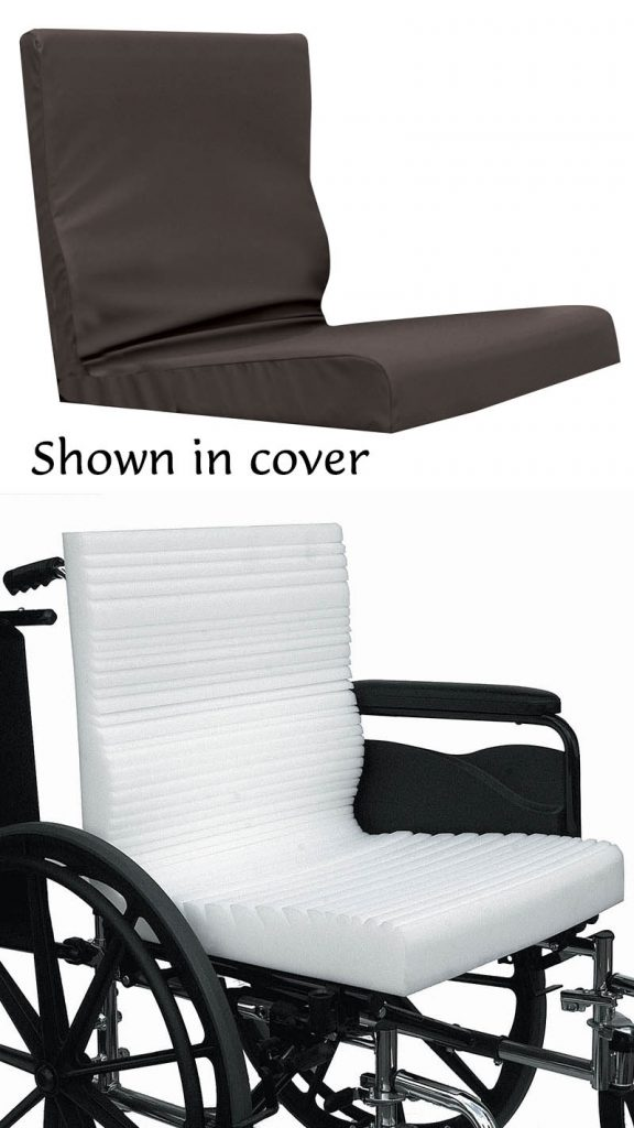 amara combo wheelchair seat and back