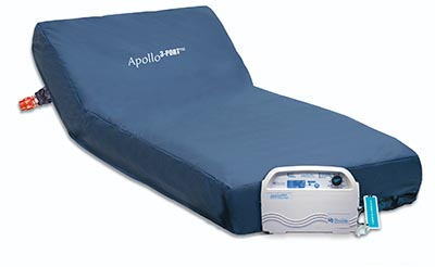 apollo 3 port alternating air mattress