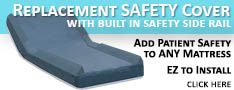 Srs-ez mattress replacement cover with safety Side rail