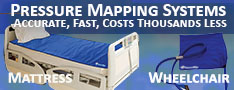 Wheelchair and mattress pressure mapping systems
