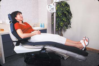 Dental Chair Overlay for Pressure Redistribution