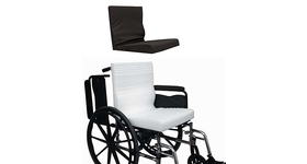 Amara one piece wheelchair seat and back combo
