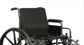 Wheelchair back systems, adjustable width backs