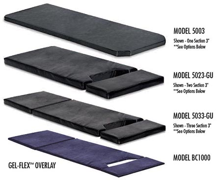 OR & ER stretcher pads choice
